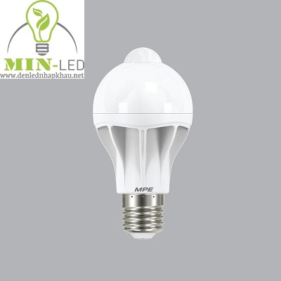 Đèn led Bulb MPE 9W Motion Sensor LB-9T/MS