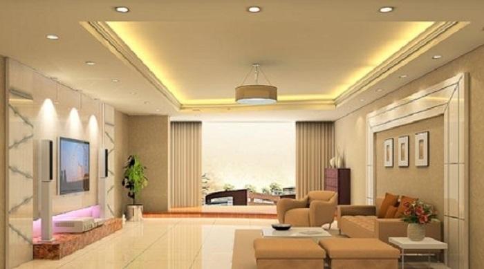 Đèn LED âm trần cảm biến 9W Rạng Đông D AT04L 110/9W PIR cho phòng khách