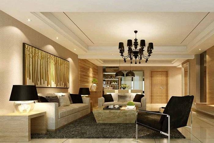 Đèn LED âm trần downlight 7W Rạng Đông mang lại nguồn ánh sáng chân thực cho phòng khách