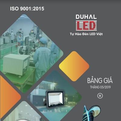Catalogue đèn Duhal 2019 pdf mời tải file bảng giá đầy đủ nhất