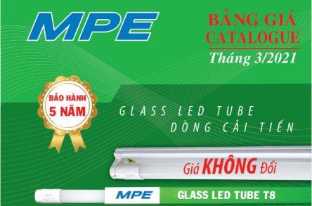 Catalogues đèn LED MPE 3/2021 đầy đủ sản phẩm chất lượng