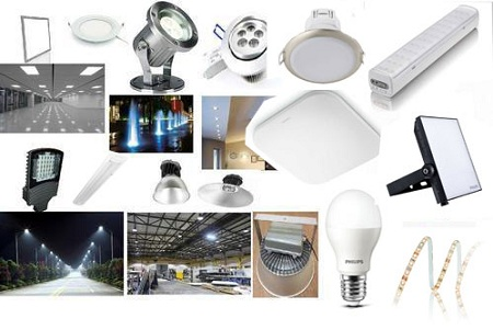 Các loại đèn LED chiếu sáng phổ biến nhất hiện nay