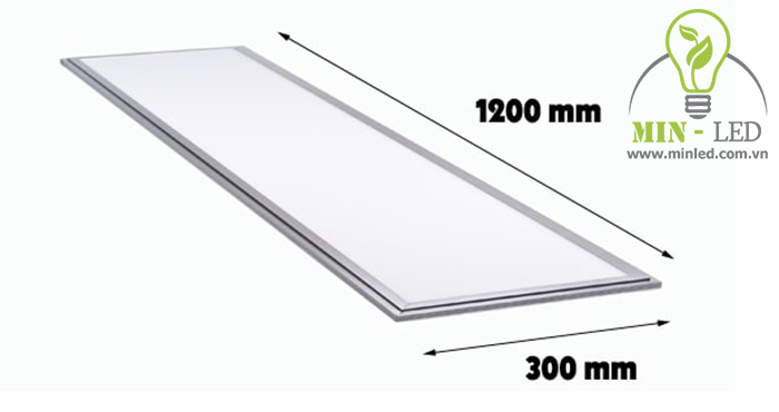 Mô phỏng mẫu đèn âm trần 300x1200 dạng Panel-1