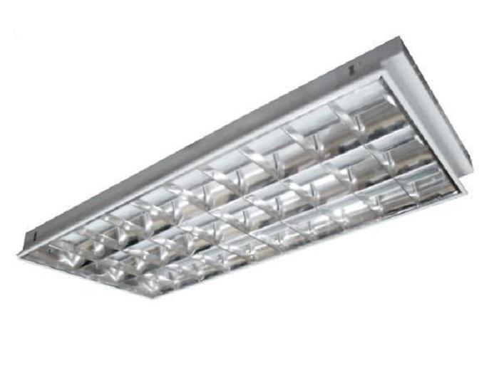 đèn tuýp led âm trần 300x1200 ứng dụng ở các không gian có diện tích lớn không yêu cầu thẩm mỹ cao1
