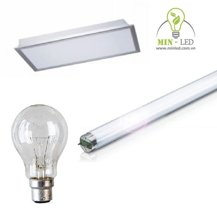 Đèn LED 60x60 tiết kiệm điện hơn hẳn dòng đèn bóng sợi đốt và huỳnh quang