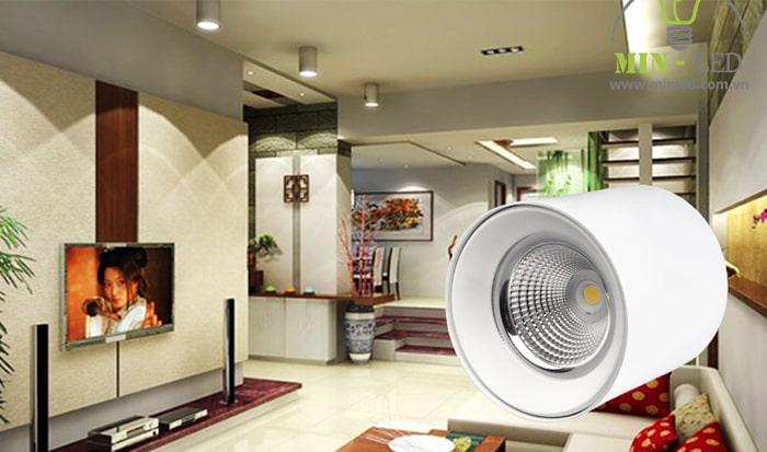 Đèn ống bơ tiện dụng lắp đặt rất dễ dàng kể cả với trần bê tông1