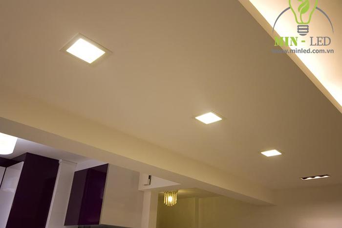 Đèn ốp trần sử dụng với trần bê tông cho hiệu quả thẩm mỹ cao1