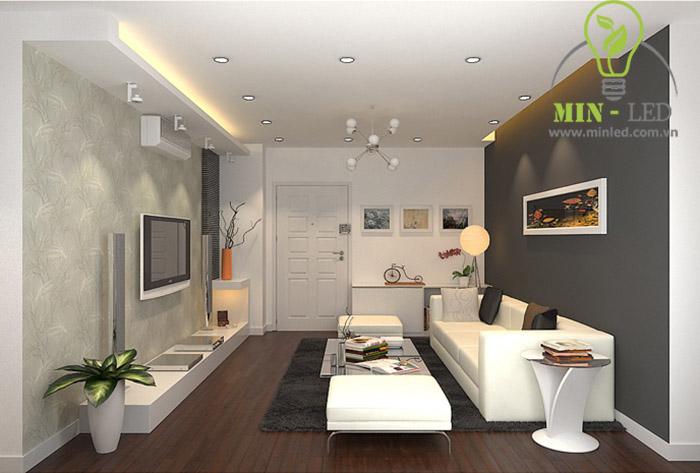 Đèn LED âm trần d90 giúp bạn có được công trình ánh sáng đẹp rực rỡ1