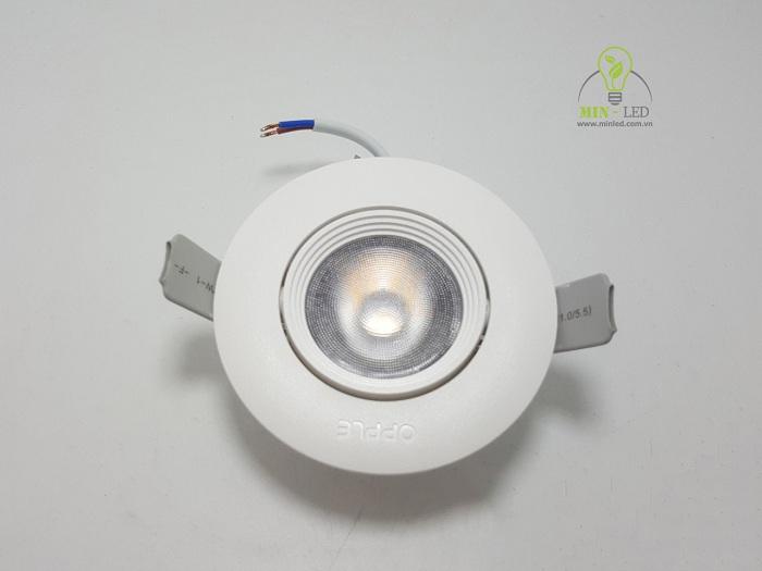 Đèn Led âm trần lỗ khoét 60 kích thước nhỏ gọn tiện dụng1