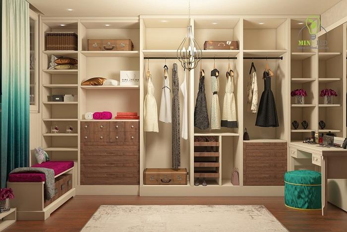 Tủ quần áo của bạn sẽ đẹp và rực rỡ hơn với đèn led âm trần lỗ khoét 60mm1
