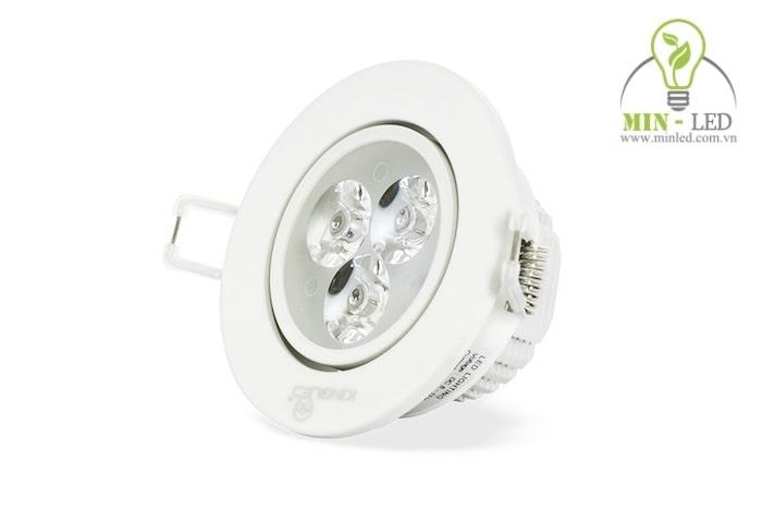 đèn led âm trần nhỏ giá bao nhiêu