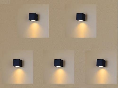Đèn LED hắt tường trong nhà