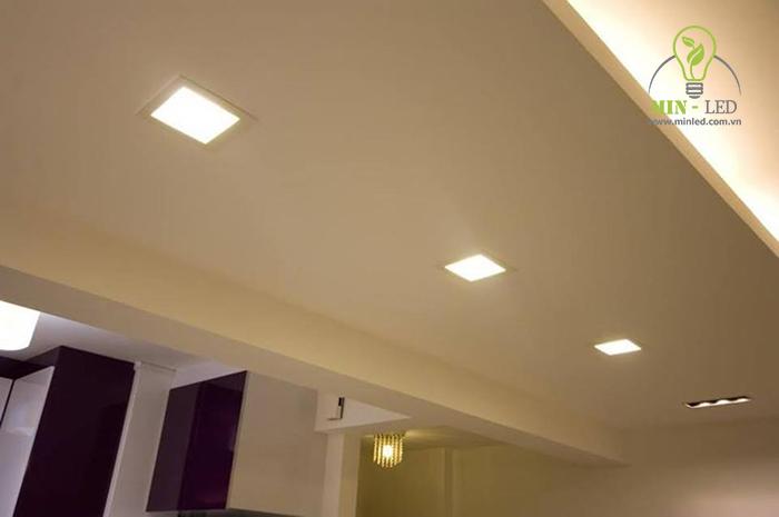 Dòng đèn LED vuông nhỏ dễ tích hợp với nhiều không gian1