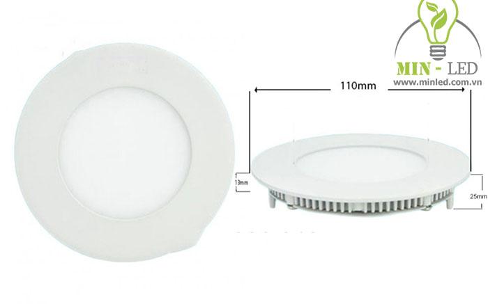 Đèn Led âm trần đế mỏng khoét lỗ từ 76 - 90 mm1