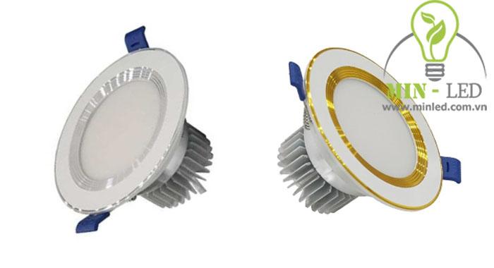 Đèn led âm trần đế dày khoét lỗ từ 76 - 110 mm tùy vào công suất1