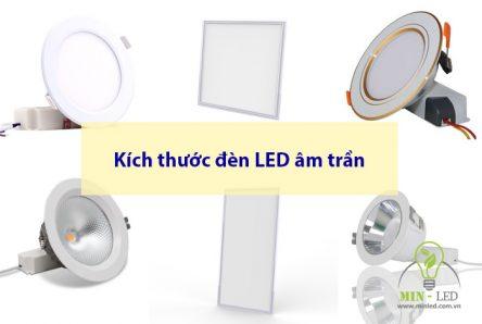 [FULL] Các kích thước đèn LED âm trần Downlight 7W 9W 12W