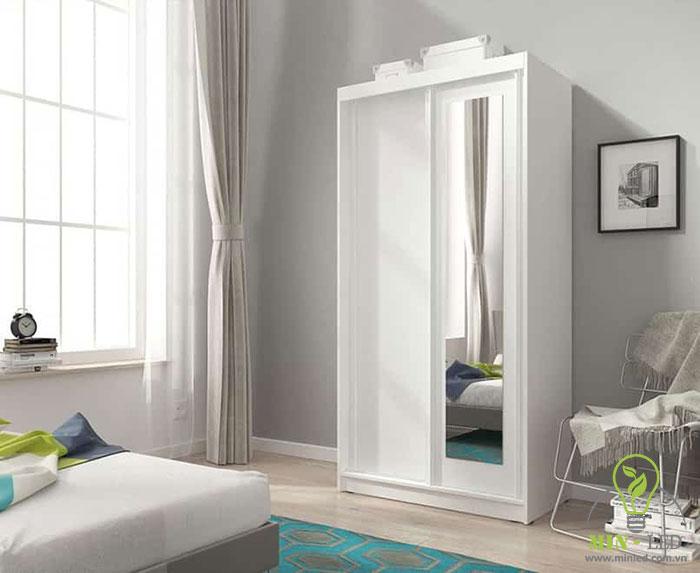 cách đặt tủ có gương trong phòng ngủ 2