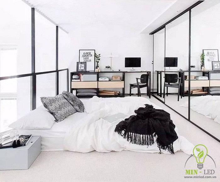 cách trang trí phòng ngủ không có giường 8