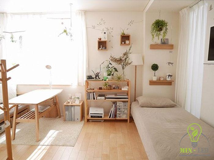 cách trang trí phòng ngủ không có giường 3