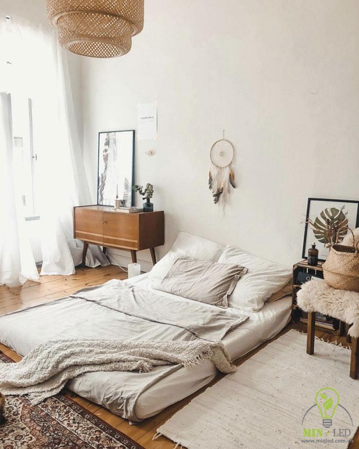 cách trang trí phòng ngủ không có giường 2