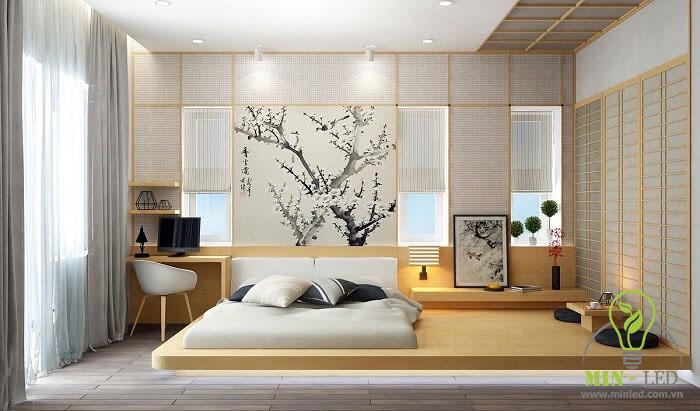 cách trang trí phòng ngủ không có giường 10