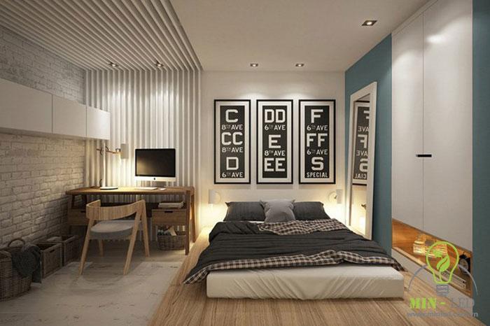 cách trang trí phòng ngủ không có giường 12