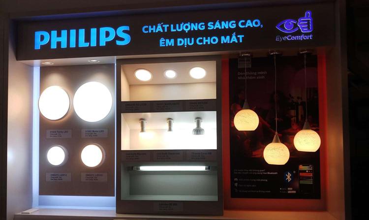 Đại lý đèn LED Philips tại Hà Nội