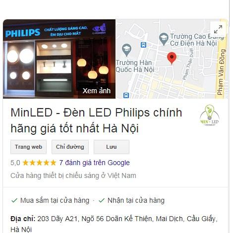 Địa chỉ bán đèn LED Philips chính hãng giá tốt