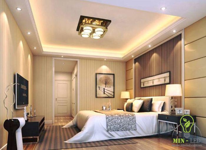 lựa chọn loại đèn thích hợp cho phòng ngủ