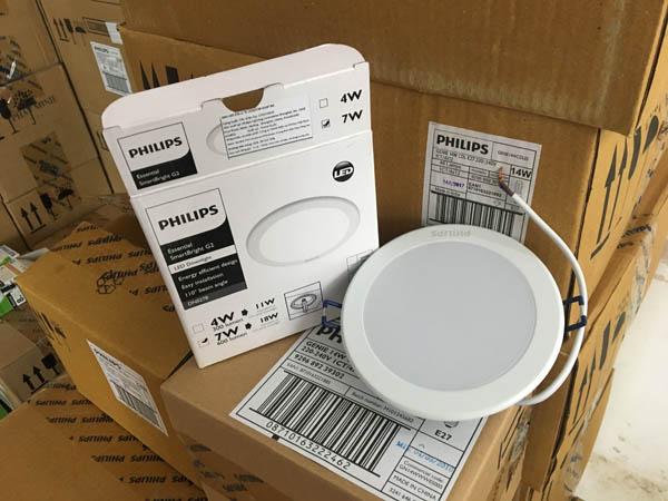 Đèn LED âm trần Philips với nhiều kiểu dáng và chức năng