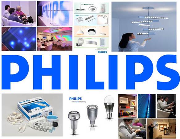 Thiết bị chiếu sáng Philips nổi tiếng toàn cầu được nhiều khách hàng ưa chuộng