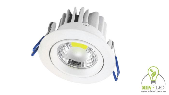 đèn LED âm trần có dimmer Paragon