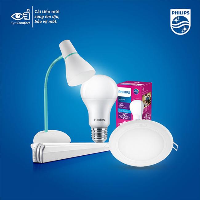 Danh sách sản phẩm đèn LED Philips hiện nay