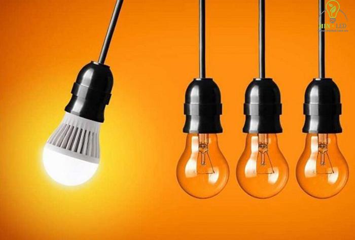 Đèn LED có công suất tiêu thụ điện năng thấp và tiết kiệm - 1