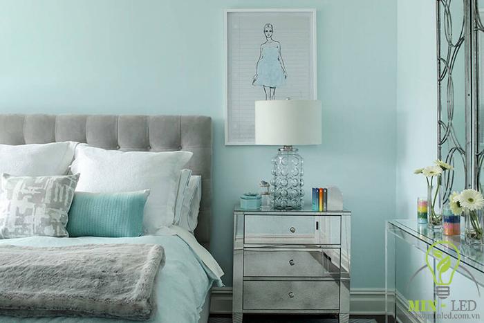 Mệnh Mộc sơn tường phòng ngủ màu gì?