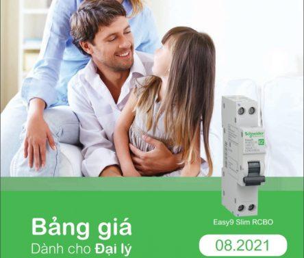 Catalogue thiết bị điện Schneider Electric 8.2021 chiết khấu tốt nhất