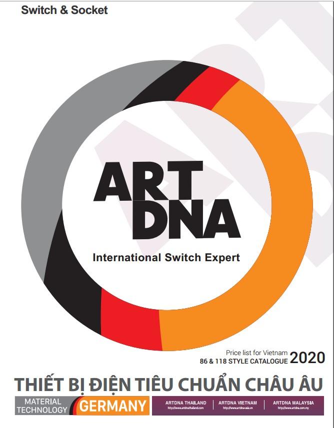 Bảng giá thiết bị điện Art&DNA xuất xứ Đức bảo hành 12 năm