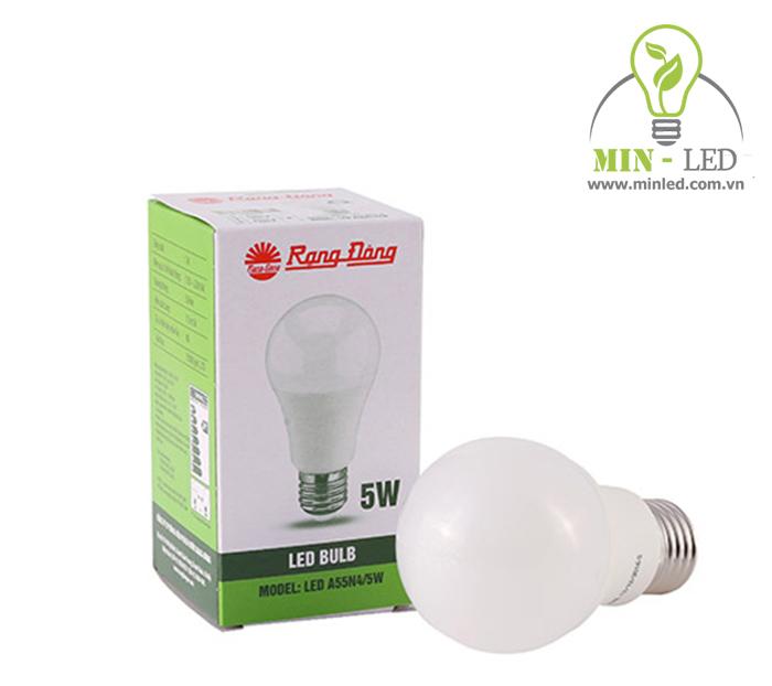 LED Bulb tròn 5W A55N4