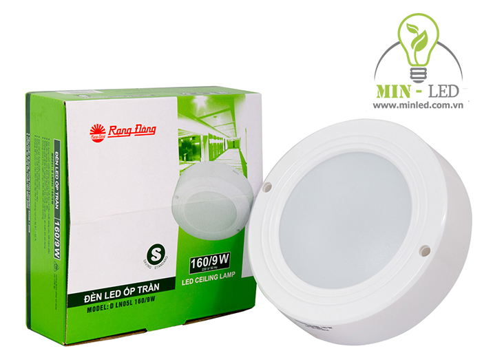 Đèn LED Ốp trần Tròn 160/9W