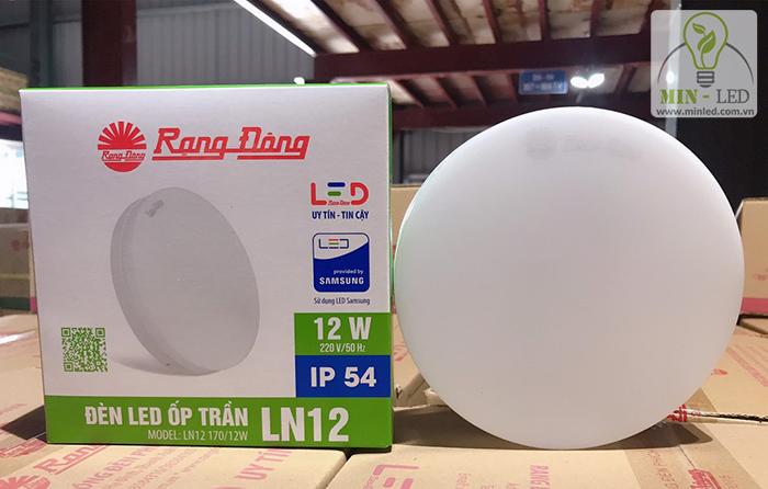 Đèn LED ốp trần LN12 170