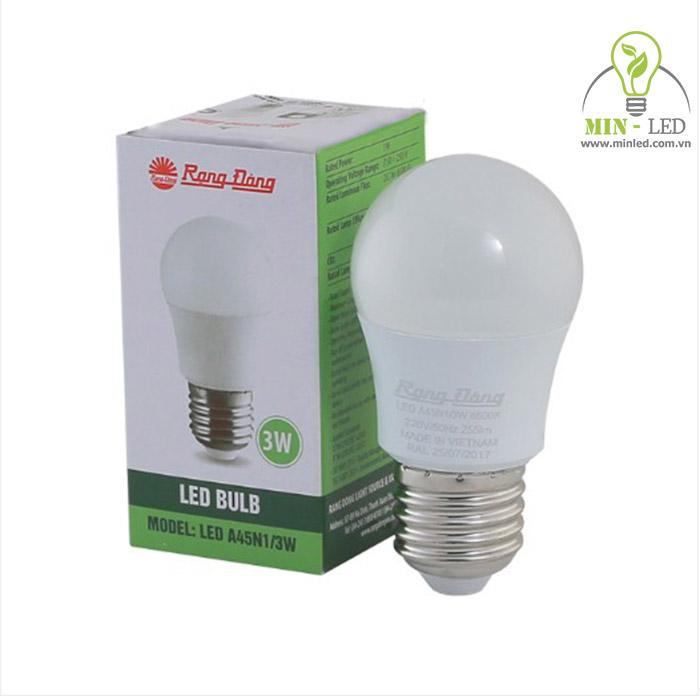 Bóng đèn LED Rạng Đông 3w có chế độ chiếu sáng chân thực và bảo vệ thị lực - 1
