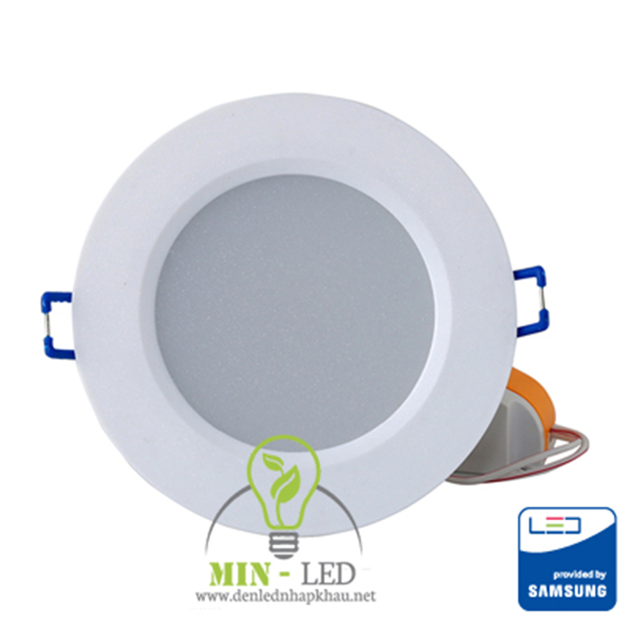Đèn LED âm trần Rạng Đông 3W vừa đảm bảo tính thẩm mỹ, vừa đảm bảo công năng chiếu sang hoàn hảo