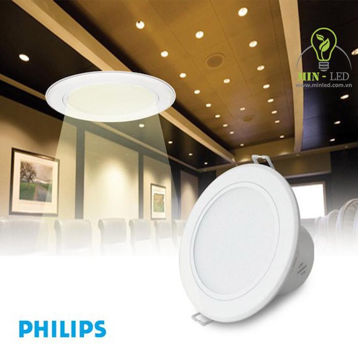 Đèn LED âm trần 6w Philips 6w mang đến giải pháp chiếu sáng ưu việt - 1