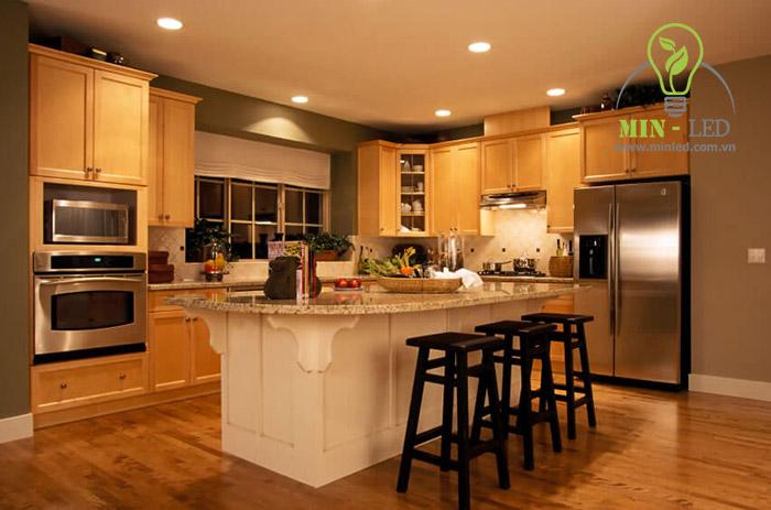 Đèn LED âm trần Philips 5w ứng dụng rộng rãi tại nhiều không gian
