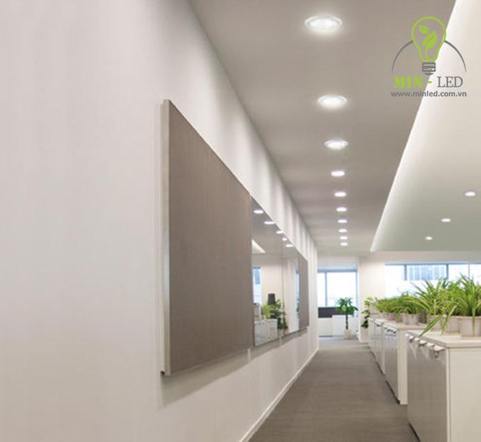 Đèn LED âm trần philips 12w nhiều kích thước khác nhau nên sẽ sử dụng được tại nhiều không gian - 1