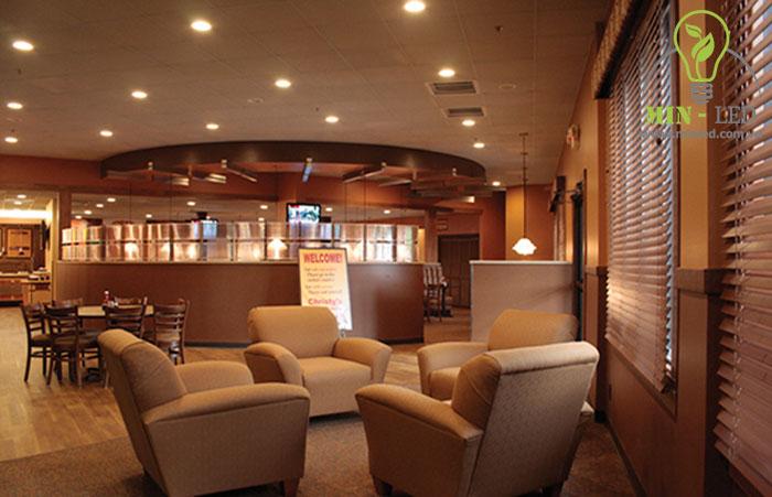 Đèn Led âm trần Rạng Đông 12W RD-AT14L có thể ứng dụng rộng rãi trong không gian nhà hàng, nhà ở, trường học - 1