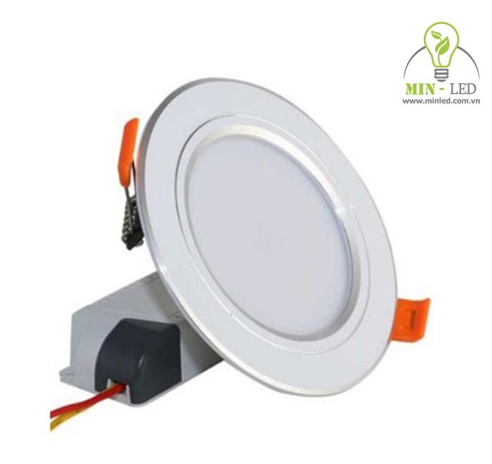 Dòng đèn LED âm trần 3 chế độ 7 màu có viền bạc/vàng tinh tế - 1