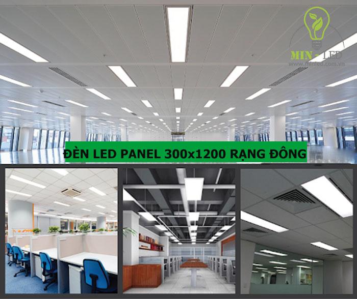 BẢNG GIÁ đèn LED Panel 300×1200 Rạng Đông 2021 đầy đủ
