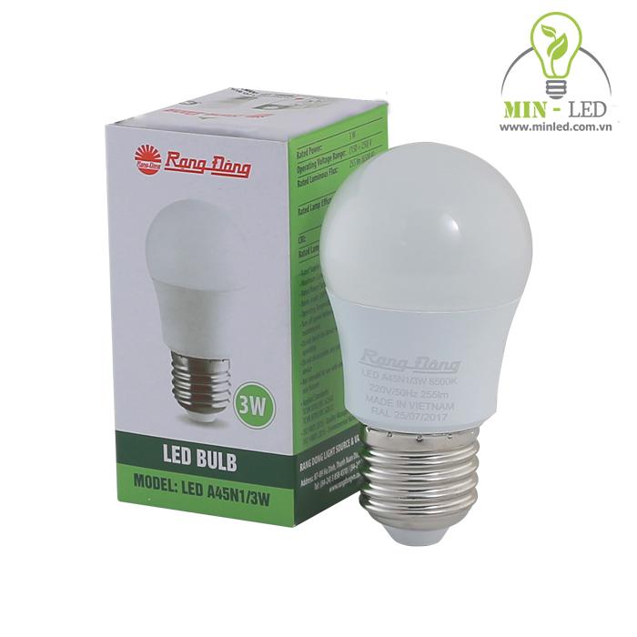 Đèn Bulb Rạng Đông A45N1
