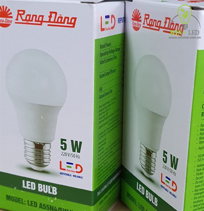 Đèn LED Rạng Đông 5w sở hữu nhiều ưu điểm vượt trội -